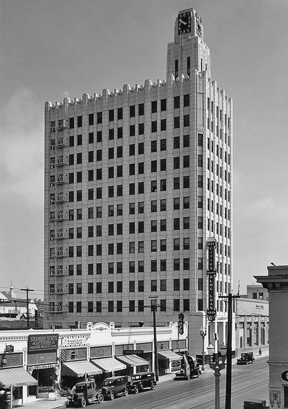 Bay Cities Guaranty Building, Santa Monica, 1929