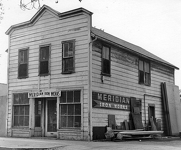Meridian Iron Works, South Pasadena, 1887