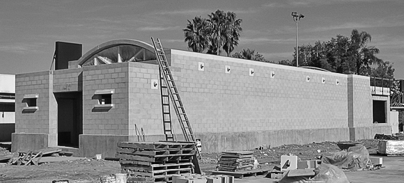 Los Angeles World Airports Runway Lighting Vault Building, Ontario, 2006